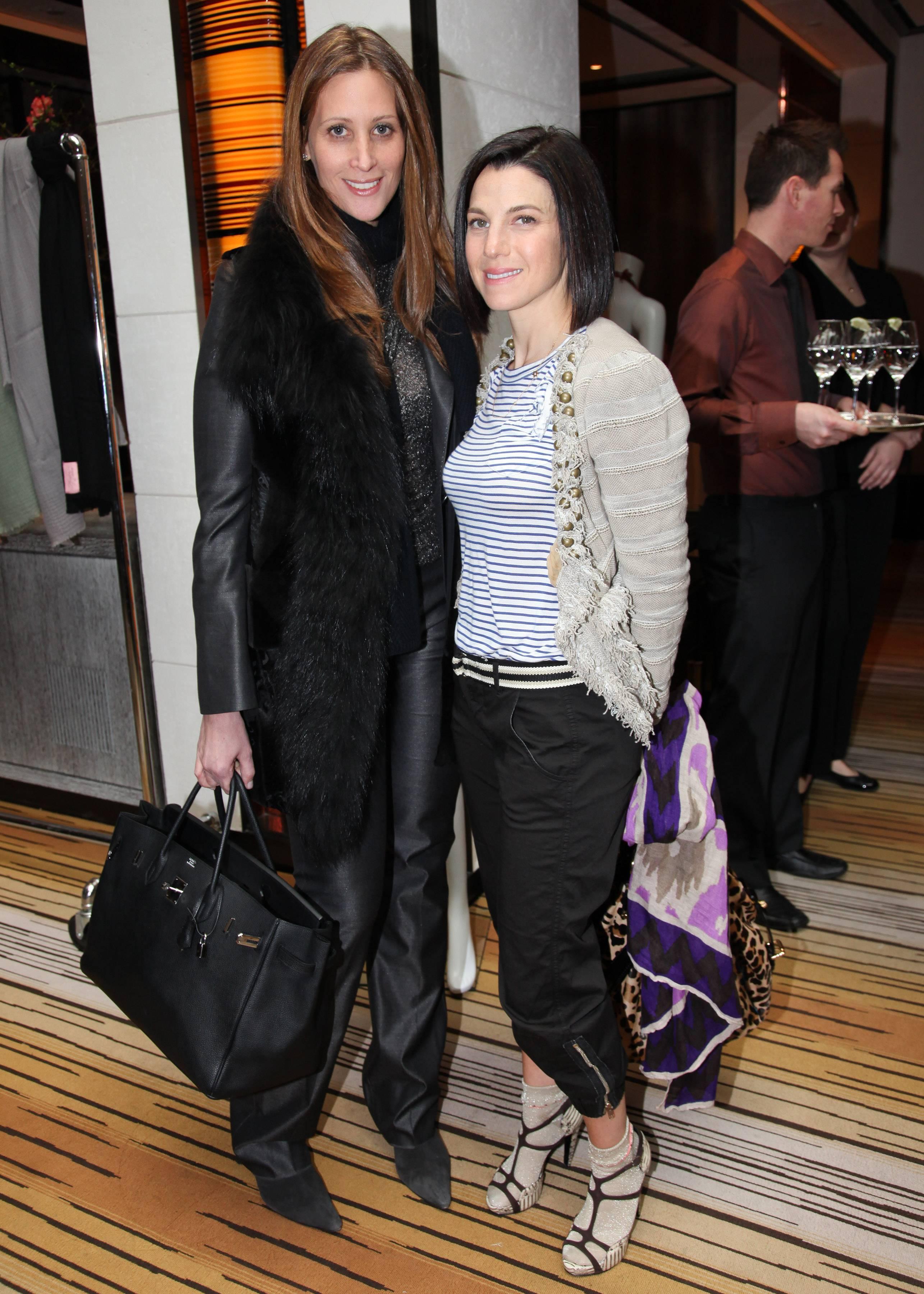 Stephanie Winston Wolkoff, Jessica Seinfeld Theodora & Callum event benefitting Baby Buggy