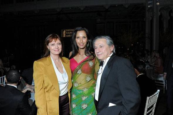 Susan-Sarandon, Co-founder Padma Lakshmi, Founder Tamer Seckin, MD