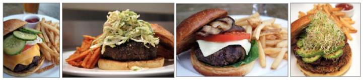 Tommy Bahama Burgers