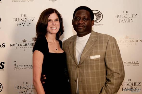 Amanda Hardisty and Jim Wood