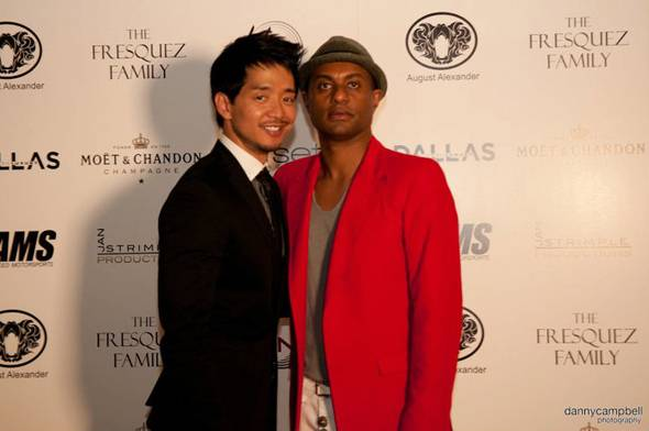 Damon Huynh and Anthony Worku