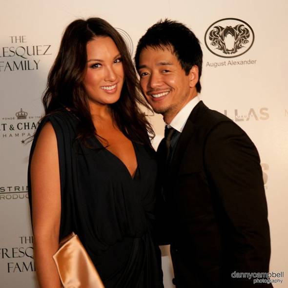 Mina Chang and Damon Huynh