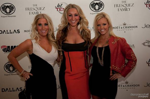 Rachel Brent, Alyssa Varty, and Paige Jones