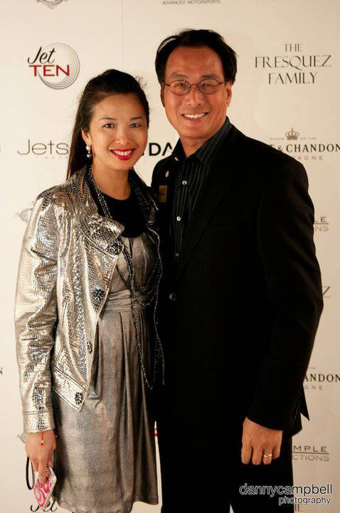 Mayor of Addison, Joe Chow and Wife