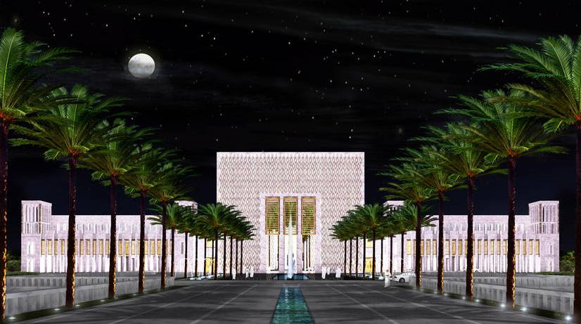 Abu Dhabi new Presidential Palace