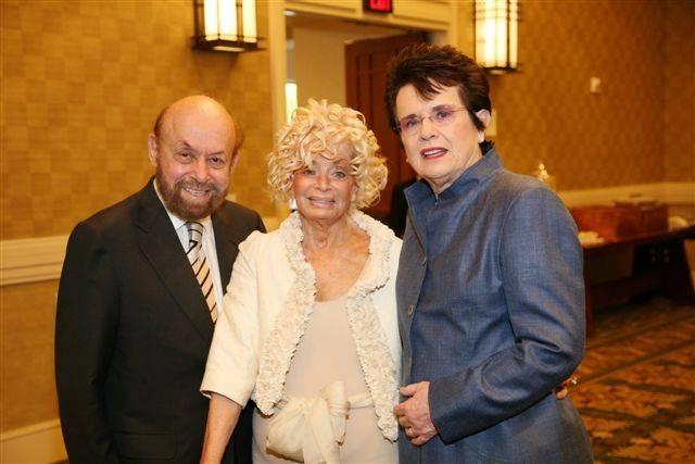 Bob Machiz, Carole Machiz, Billie Jean King
