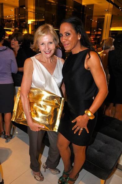 Cathy Leff & Barbara Becker (lr)
