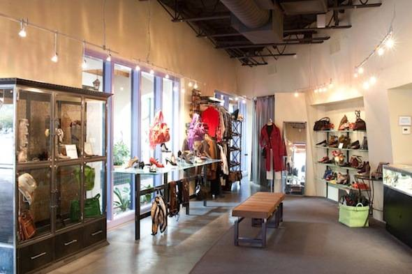 The J. Gilbert Footwear Boutique in Tucson