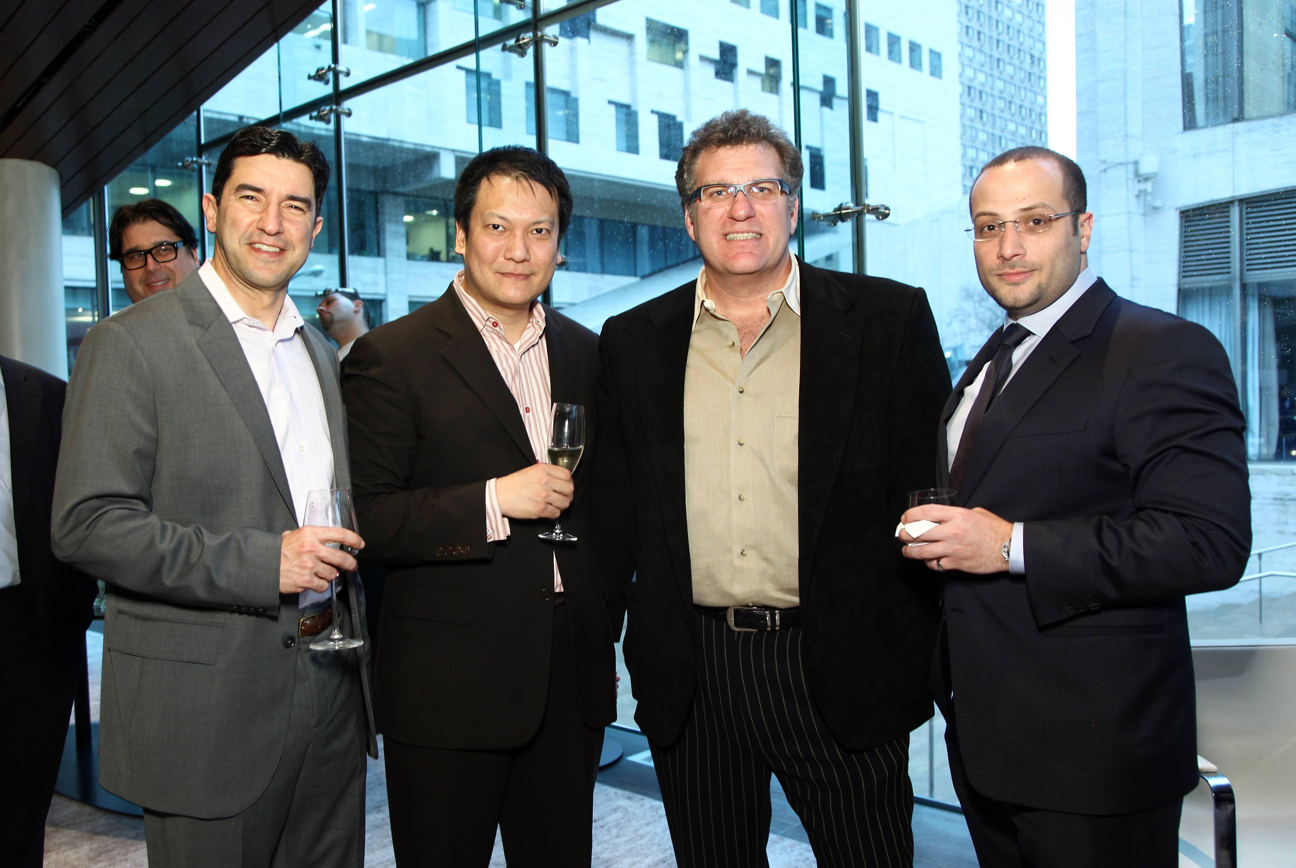 Jose Fernandez, Luke Taxi, Dr. Mathew Eisenberg, Sharif Abdelfattah (2)