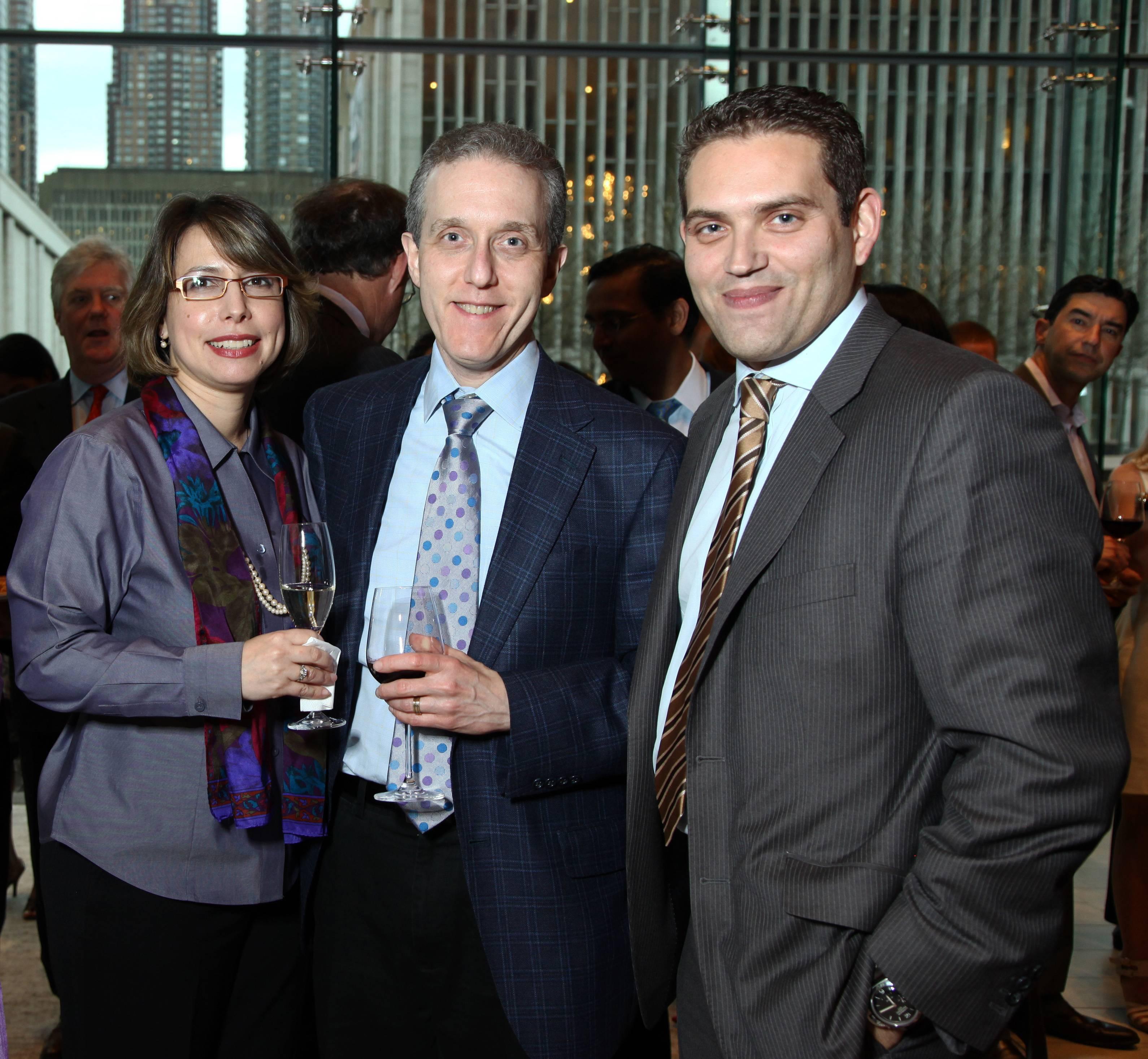Karen Popkin, Dr. Jedd Wolchok, Rafael Alvarez (2)