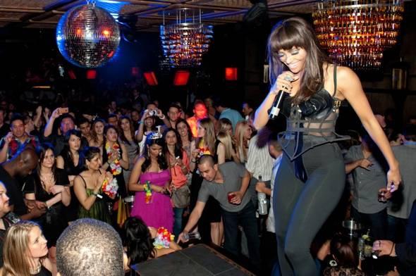 Kat Graham performs at LAVO