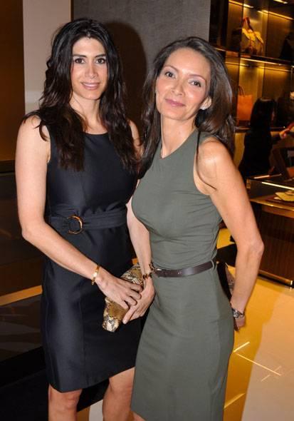 Lorena Assali & Andrea Ghorbani(lr)