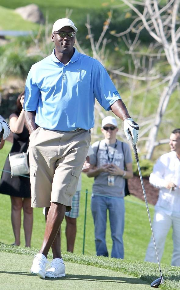 Michael Jordan at Shadow Creek for MJCI, Las Vegas