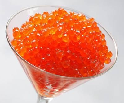 Orange Caviar