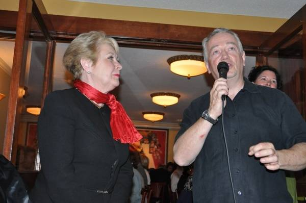 Patricia Wells and SF Chef Roland Passot Talk Salad