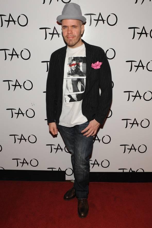 Perez Hilton at TAO LV