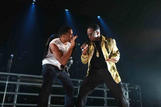 Q-Tip and Diddy Performance