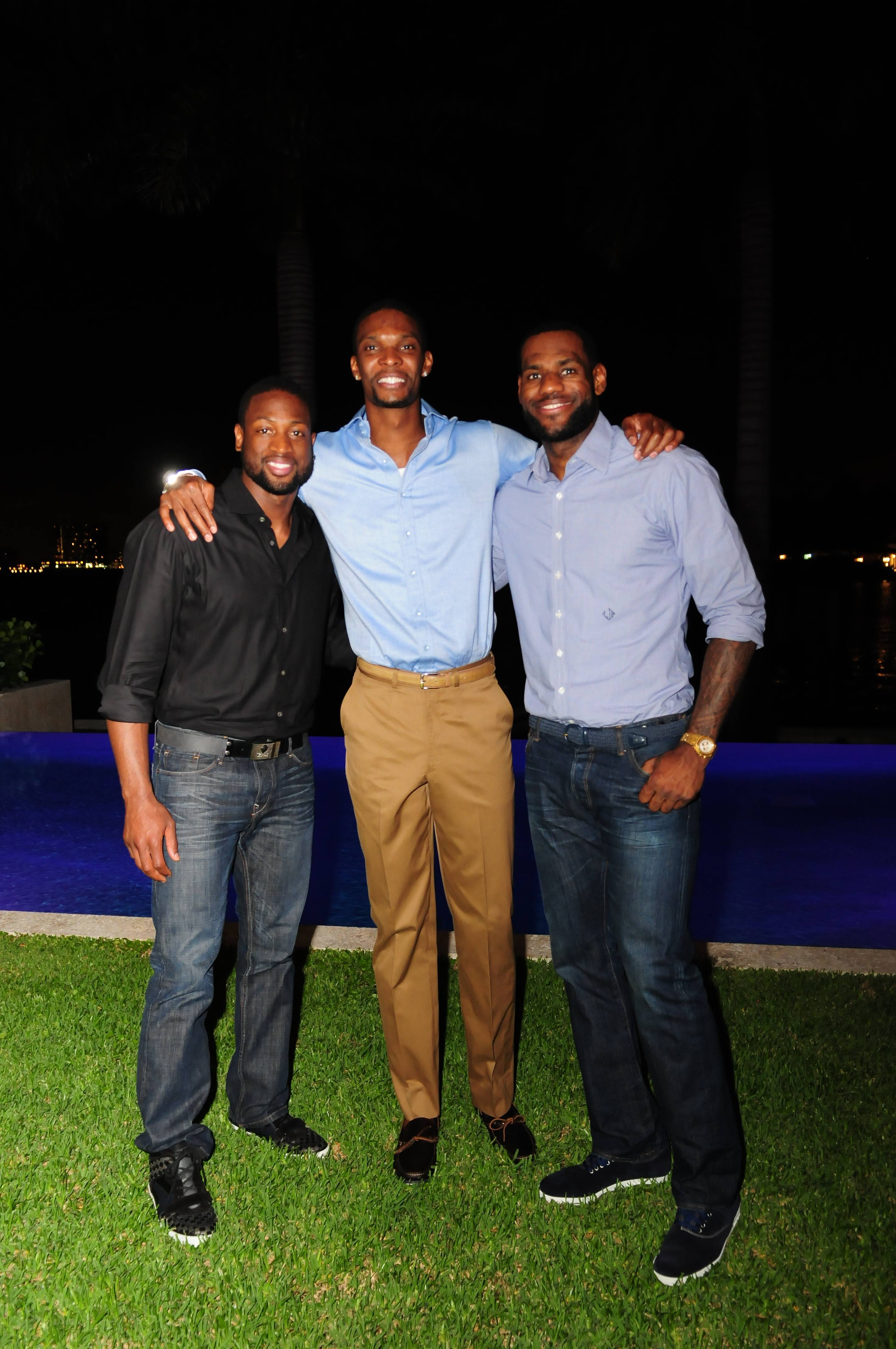 Haute Living and Dom Perignon kick off the Haute 100 celebrations with an intimate dinner in honor of Adrienne William's birthday at the home of her and fiancŽ, Miami Heat star, Chris Bosh.