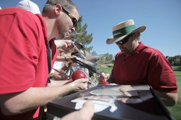 Toby Keith Signs Autographs at Shadow Creek for MJCI, Las Vegas