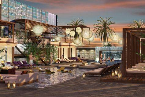 Nobu Hotel Abu Dhabi Artist's Impression via Arabian Business