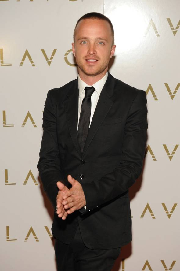 Aaron Paul LAVO red carpet