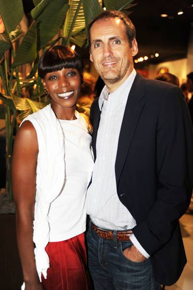 Angela Forbes & Aldo Faetti