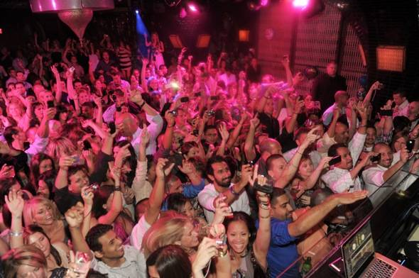 Atmosphere After Awards Party at LAVO