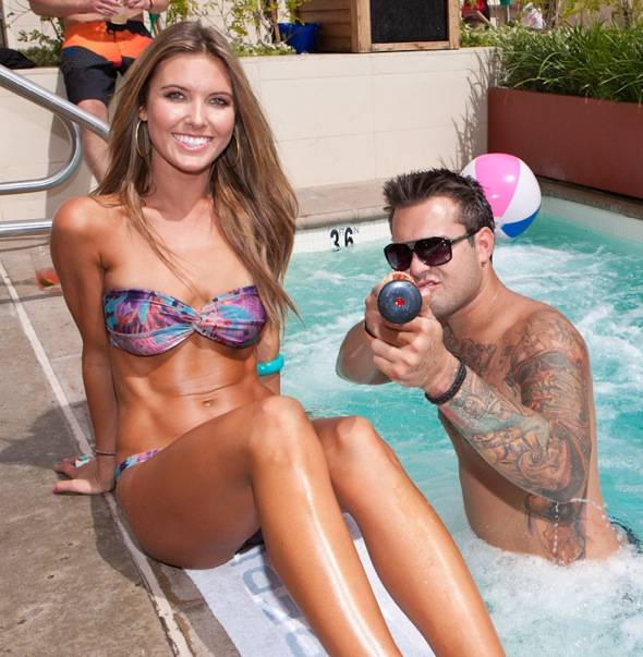 Audrina and Mark Patridge