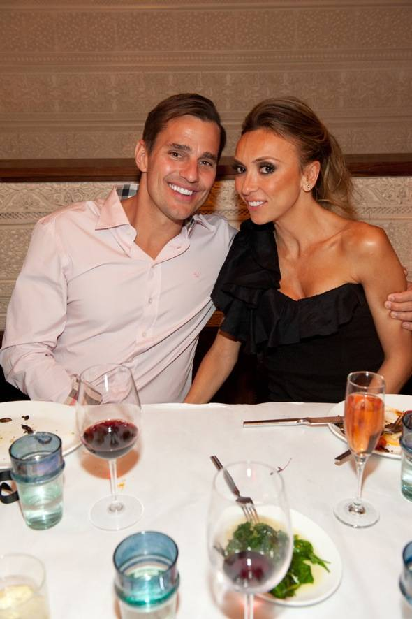 Bill and Giuliana Rancic at LAVO