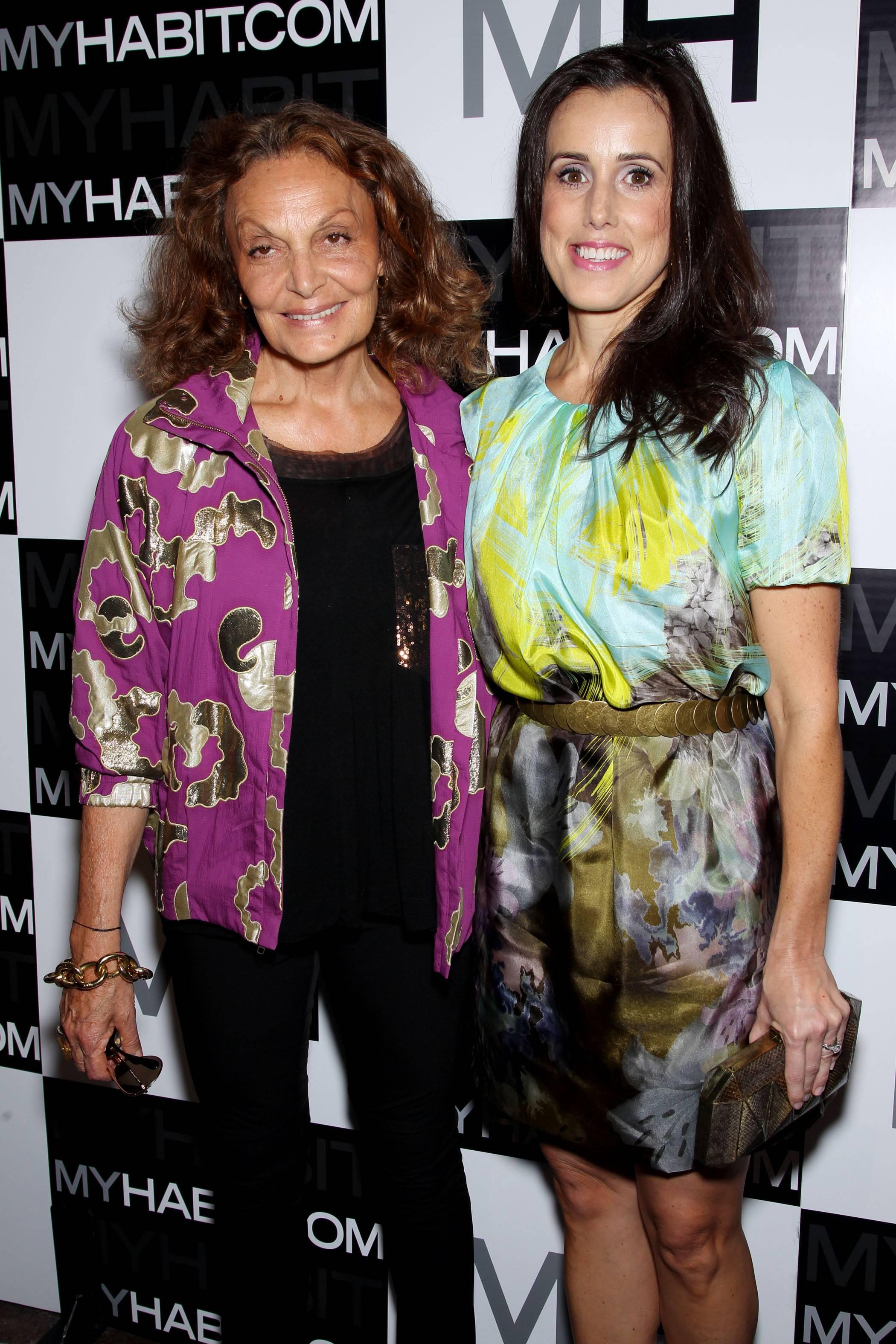 Diane von Furstenberg, Maria Renz(Director Amazon.com)