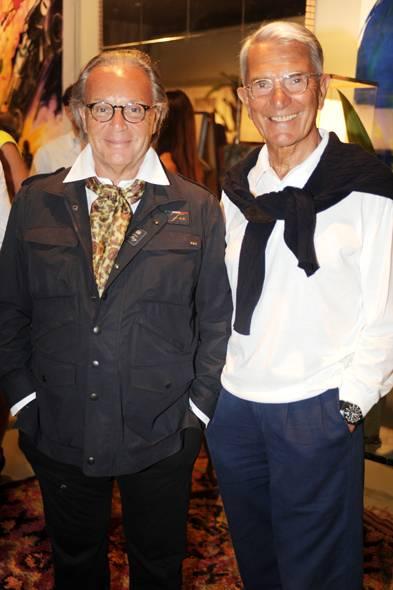 Diego Della Valle & Carlo Rossella