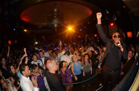 Doug E Fresh performs at LAVO 3