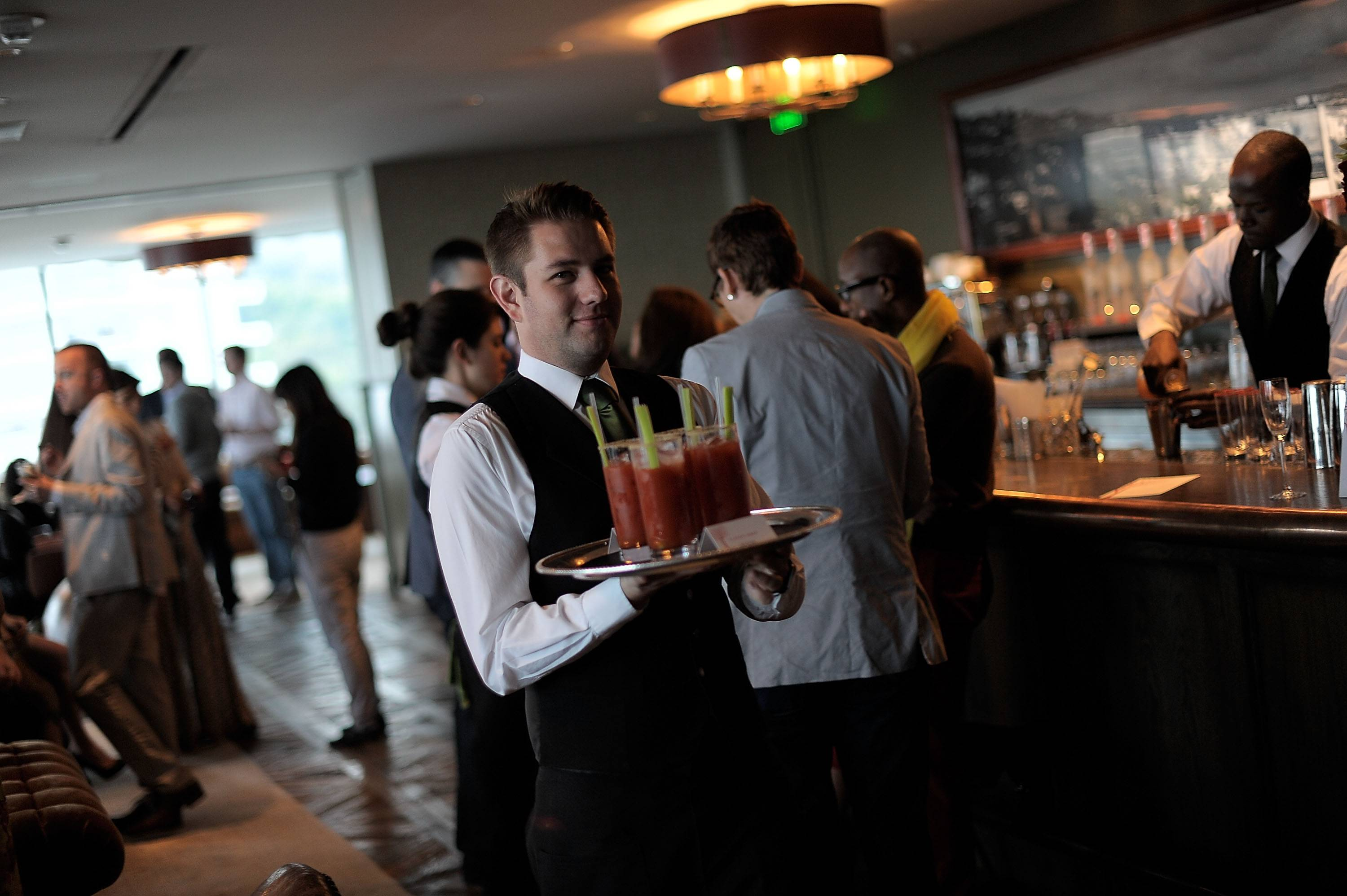 A general view is seen at 'Belvedere Vodka And Krista Smith Toast Vanity Fair's June 2011