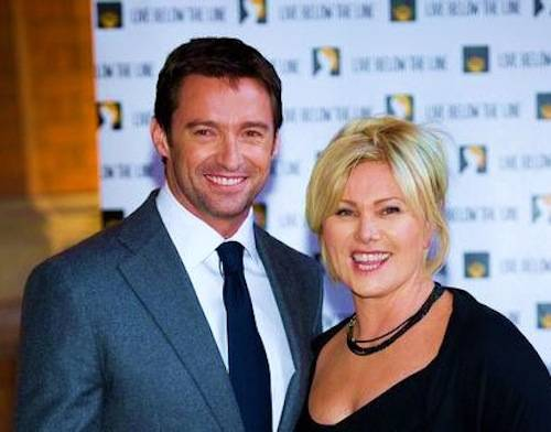 Hugh Jackman & Wife Deborah