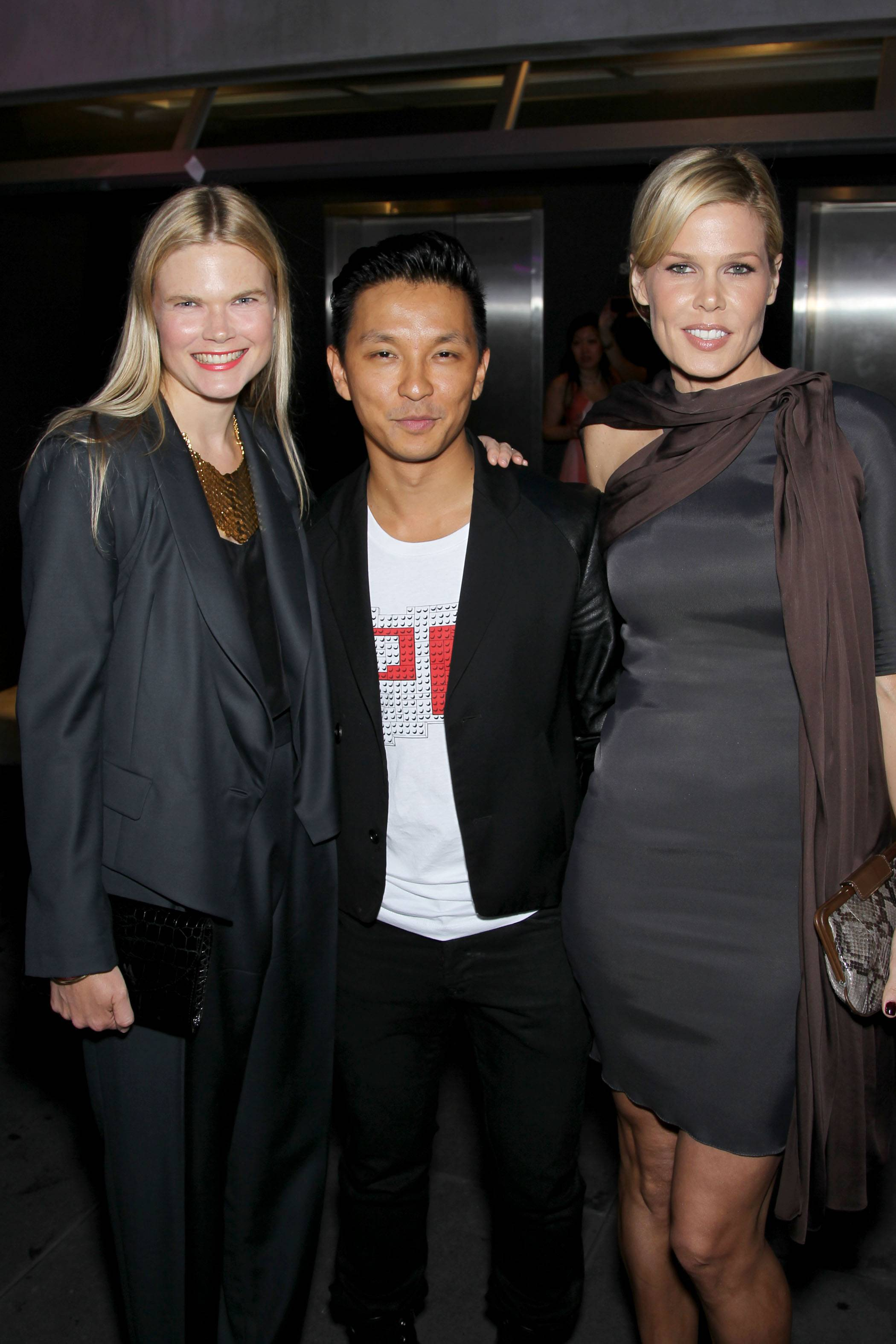 Kate Schelter, Prabal Gurung, Mary Alice Stephenson