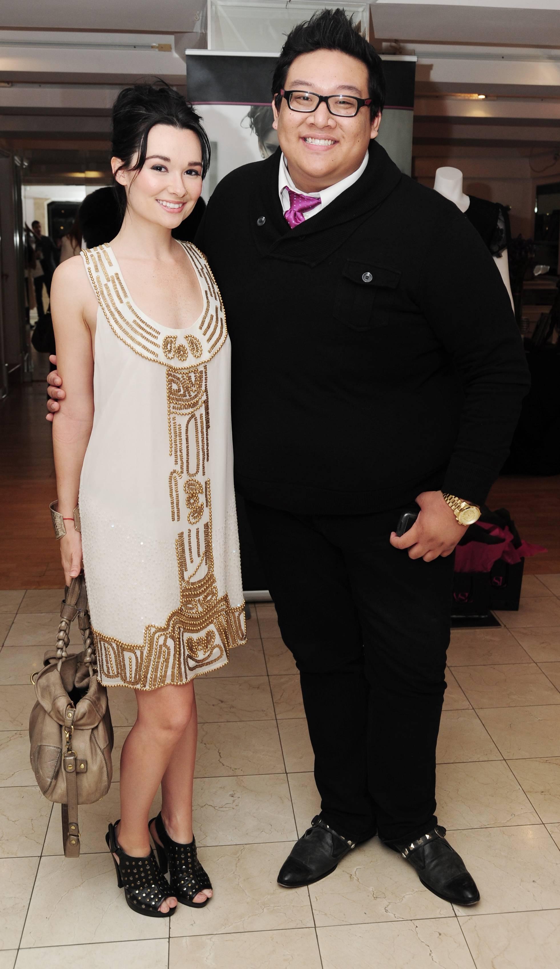 Kristen Ruhlin & Daniel Nguyen from new movie 'She Wants Me'