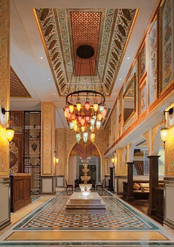 Lalezar Restaurant Jumeirah Zabeel Saray Entrance