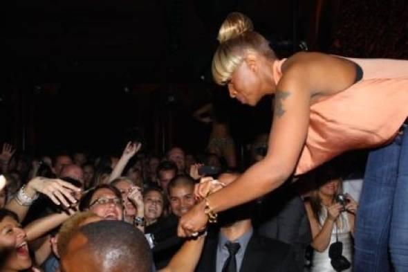 Mary J Blige at Surrender 2