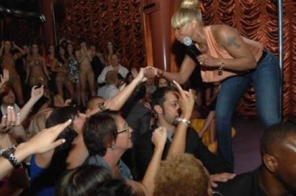 Mary J Blige at Surrender 5
