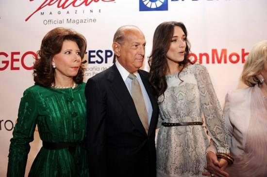 Melba Grullon, Oscar De La Renta, & Jimena Navarette