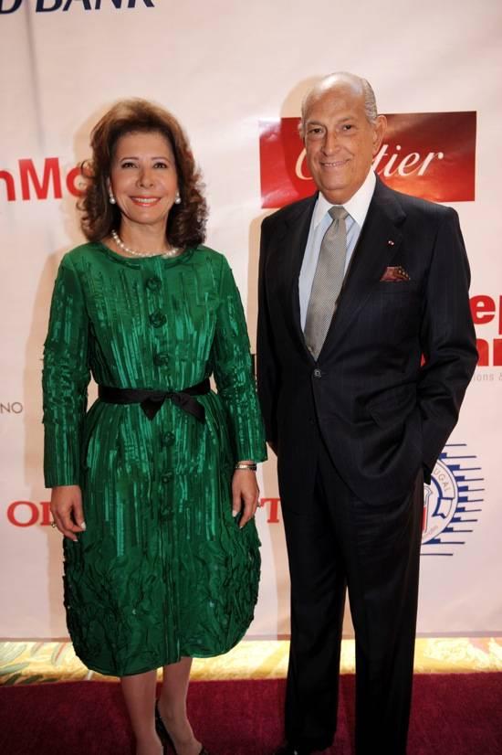 Melba Grullon & Oscar de la Renta