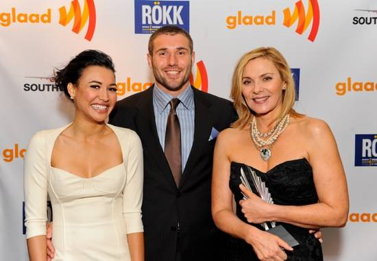 Naya Rivera, Ben Cohen, Kim Cattrall at GLAAD Media Awards