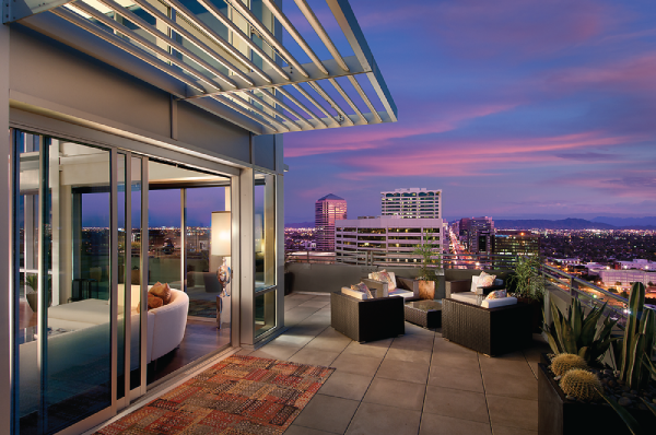Go Inside The Posh Penthouses At One Lexington In Downtown