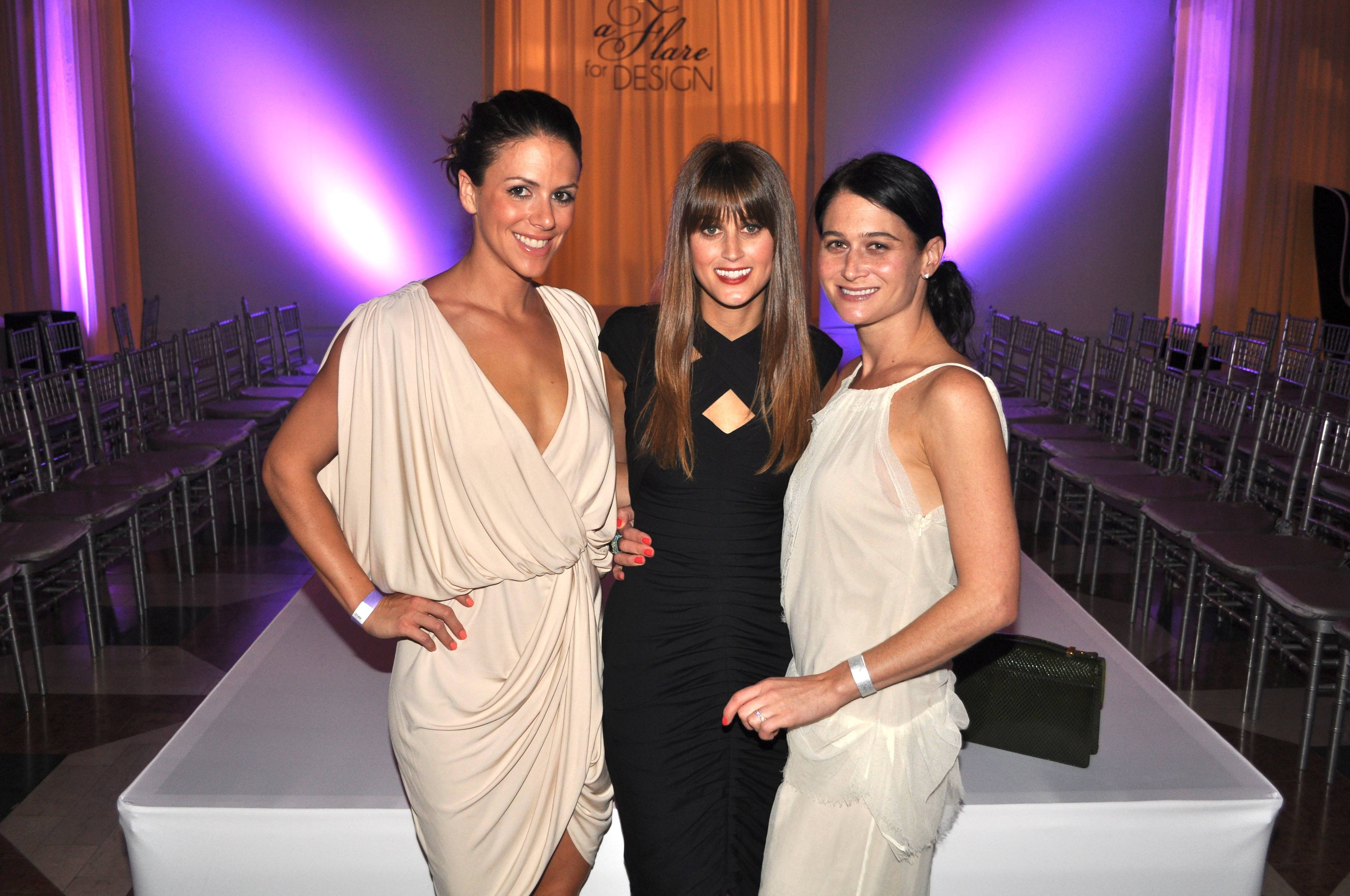 Sloane Sappan, Jenny Wilensky and Dina Friedman