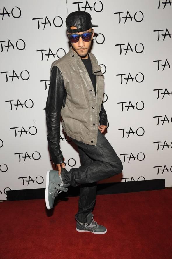 Swizz Beatz TAO Red Carpet
