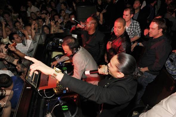 Taboo and apl.de.ap from the Black Eyed Peas perform at LAVO