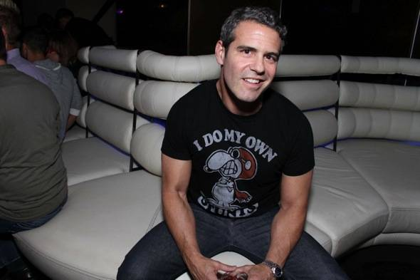 Andy Cohen hosts at Revolution.