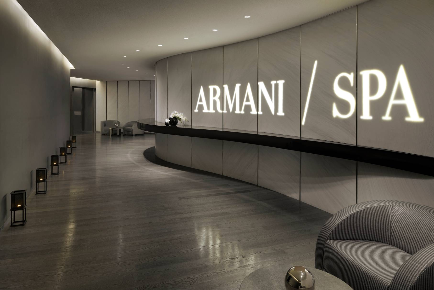 Armani Spa Entrance Dubai
