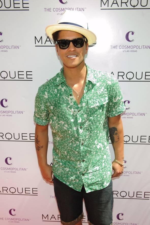 Bruno Mars Marquee Dayclub