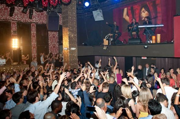 Bruno Mars performs at TAO 2